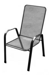 židle kovová SÁGA vysoká U000 kancelárská stolička