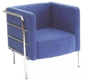 sedačka jednokřeslo VERANO K428-B hranatá kancelárské kreslo