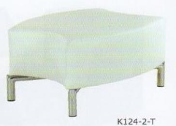 křeslo ORO K124-2-T  střední část vykrojená kancelárské kreslo
