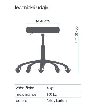 židle MEDISIT 1142  kancelárská stolička