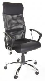 kancelářská židle IDAHO černá síťovina kancelárská stolička