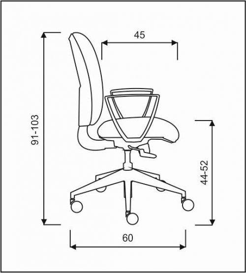 židle MATRIX E-ASYNCHRO kancelárská stolička