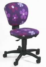 židle ERGOKID KVĚTINKY H36 kancelárská stolička