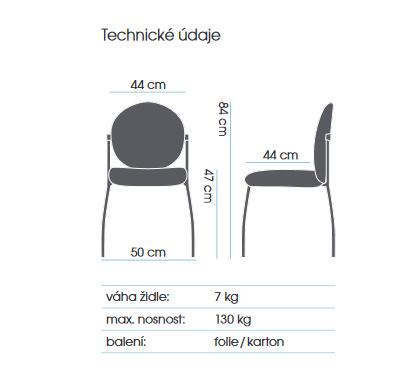 židle MEDISIT 4202 kancelárská stolička