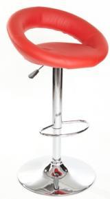 barové židle UTAH červená kancelárská stolička