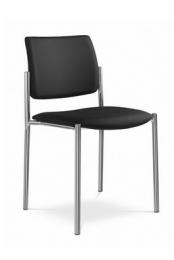 židle CONFERENCE 155-N1, kostra černá kancelárská stolička
