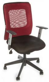 židle CORTE vínová kancelárská stolička
