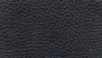 židle FISH BONES černý plast, černá koženka PU580165 kancelárská stolička