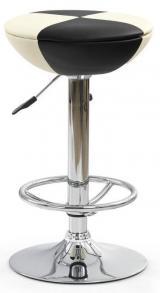 barová židle STEFAN černo-béžový sleva č. ML017 kancelárská stolička