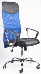 kancelářská židle IDAHO modrá sítovina kancelárská stolička