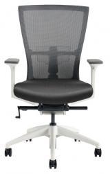 židle MERENS WHITE kancelárská stolička