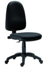 židle 1080 MEK D2 černá kancelárská stolička