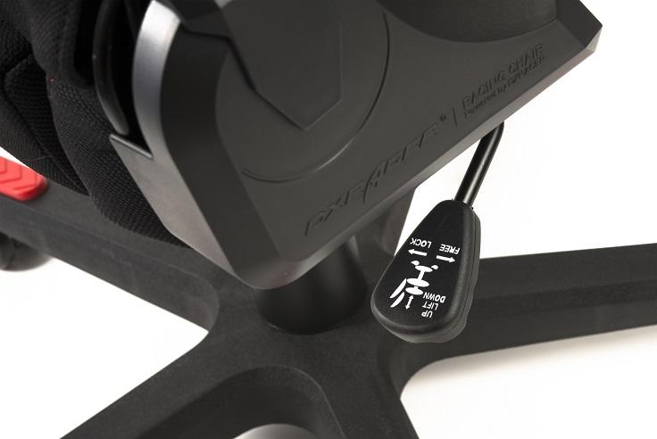 židle DXRACER OH/FD01/NR látková kancelárská stolička