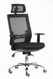kancelářská židle MARIKA YH-6068H černá kancelárská stolička