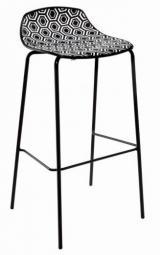 barová židle Amfora NAB - výška sedáku 77 cm kancelárská stolička