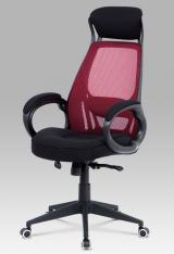 Kancelářská židle KA-G109 RED kancelárská stolička
