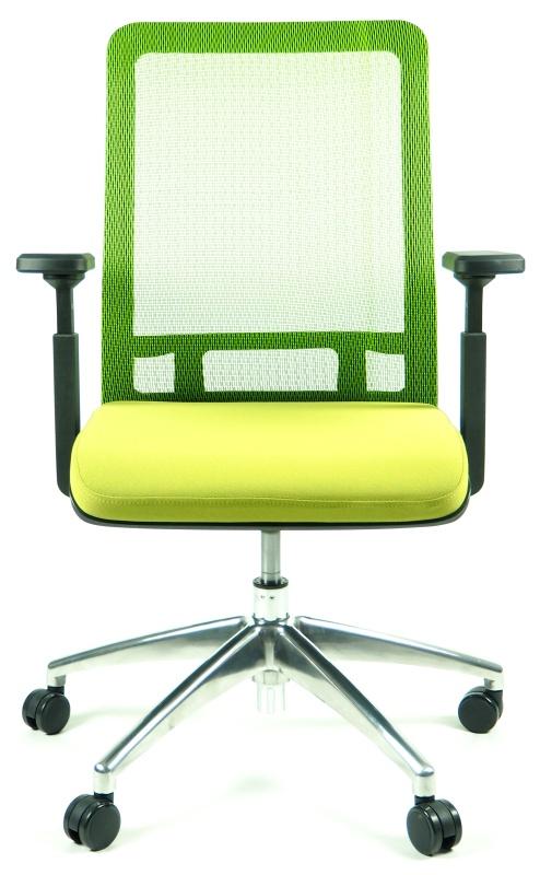 židle SHIFTER zelená kancelárská stolička