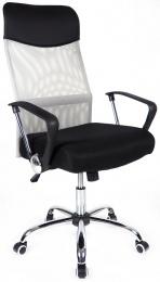 kancelářská židle PREZIDENT šedý kancelárská stolička