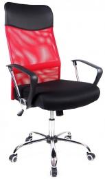 kancelářská židle PREZIDENT červený kancelárská stolička