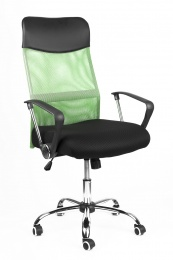 kancelářská židle PREZIDENT zelený kancelárská stolička