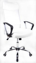 kancelářská židle PREZIDENT bílý kancelárská stolička