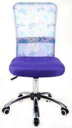 Mercury Dětská židle DINGO - barva fialová kancelárská stolička