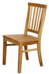 židle dubová ALLA bez povrchové úpravy kancelárská stolička