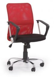 židle TONY červená kancelárská stolička