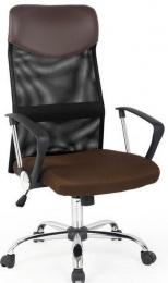 židle Vire hnědá kancelárská stolička