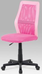 Dětská židle KA-V101 PINK kancelárská stolička
