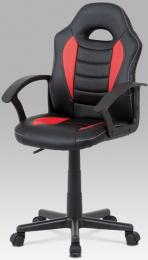 Dětská židle KA-V107 RED kancelárská stolička