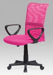 Kancelářská židle KA-N844 PINK kancelárská stolička