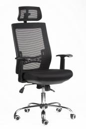židle MARIKA YH-6068H černá, sleva č. A1090.sek kancelárská stolička