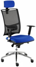 kancelářská židle LARA síť ŠÉF, TB-SYNCHRO kancelárská stolička
