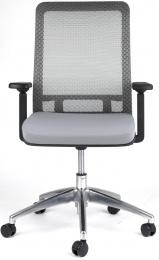 židle SHIFTER šedá, sleva č. A1104.sek kancelárská stolička