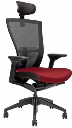 židle MERENS s podhlavníkem, sleva č. A1134.sek kancelárská stolička