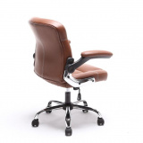Kancelářské křeslo GARED, hnědé kancelárské kreslo