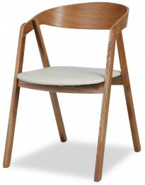 židle Guru dub masiv-látka kancelárská stolička