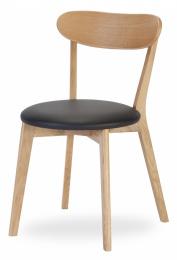 židle Inge dub  kancelárská stolička