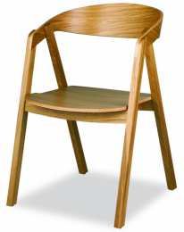 židle Guru dub masiv kancelárská stolička