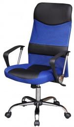 Kancelářská židle TC3-973M - modrá kancelárská stolička