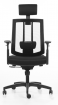 Kancelářská židle BZJ 363 - černá kancelárská stolička