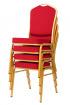banketová židle Standard Line ST220 červeno - zlatá kancelárská stolička