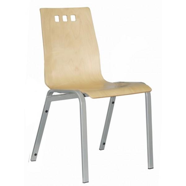 dřevěná židle BERNI bez područek kancelárská stolička