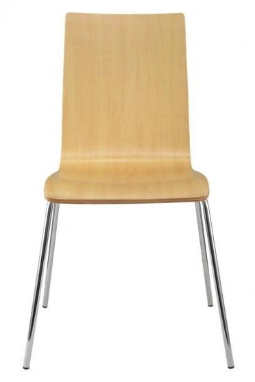 dřevěná židle LILLY  kancelárská stolička