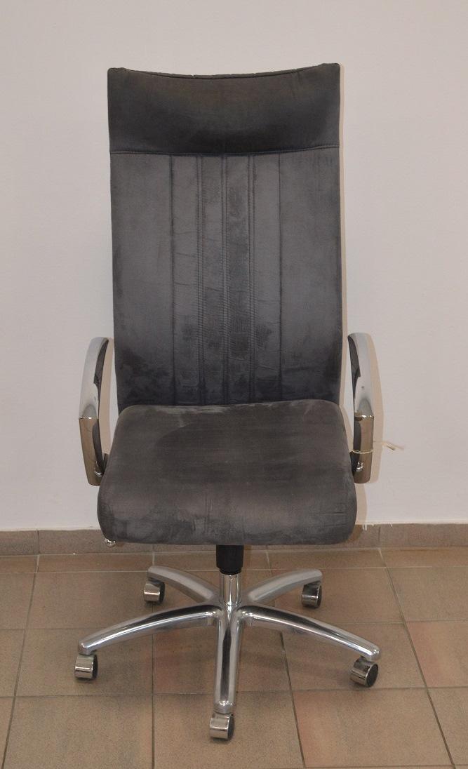 židle DAKOTA šedá, SLEVA č.42 kancelárská stolička