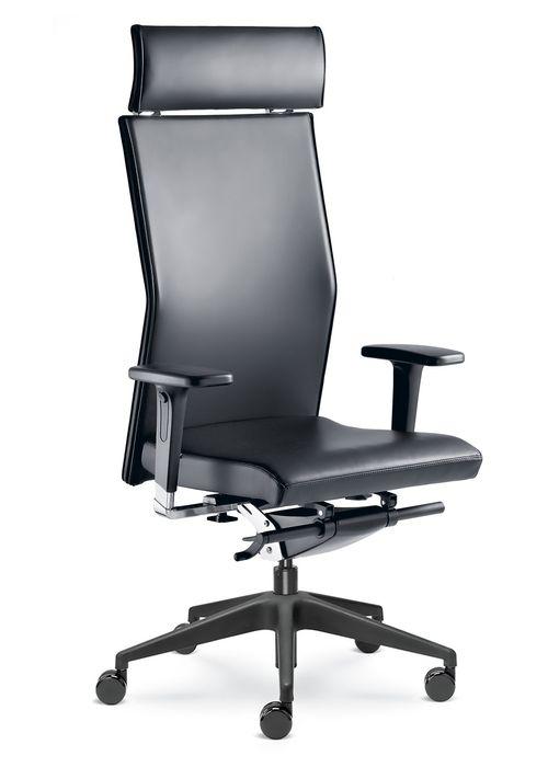 židle WEB OMEGA 420-SYS, P kancelárská stolička