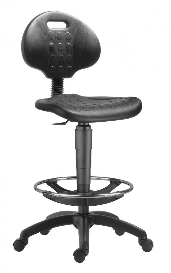 stolička 1290 3050 PU NOR, plast, extend, kolieska