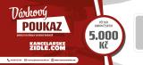 Dárkový poukaz na 5000 Kč