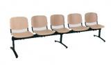 pětimístná lavice 1125 LN (LG)